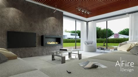 Decorative Fireplace Ideas by Smart Ethanol Fireplace With Remote Control Amp Safety