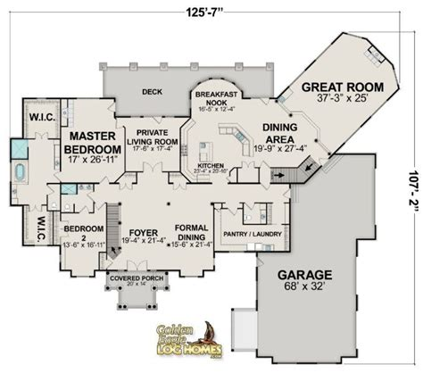 log floor plans log homes and log home floor plans cabins by golden eagle