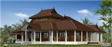 traditional kerala villa exterior in 3070 sq ft kerala