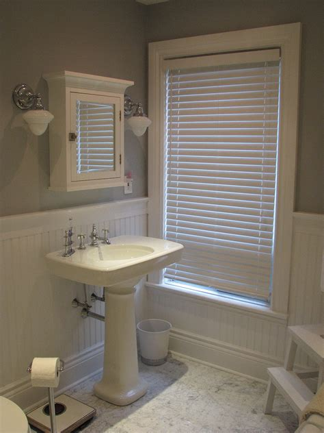 cover dated bathroom tile  wainscoting