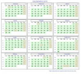 Calendario 2019 Con Festività Calend 193 2019 Feriados