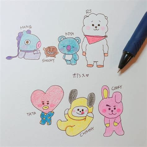 bts universtar bt21 131 best bt21 images on pinterest bts wallpaper bts