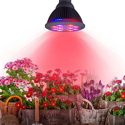 indoor growing lights uk high efficient 24w led grow light taotronics plant grow