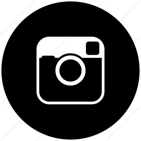 instagram logo black  white vector  getdrawingscom