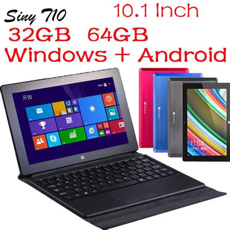 Tablet Pc 10 Inch 1 Jutaan 10 1 inch tablet pc dual boot android 4 4 4 windows 8 1 laptop 2gb 64gb keyboard wifi