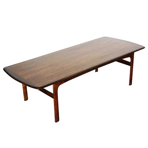 large modern coffee table large teak modern coffee table for sale at 1stdibs