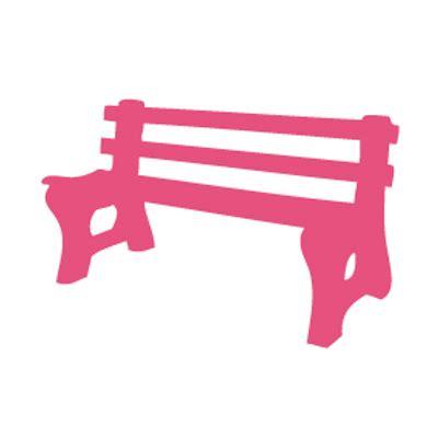 bench logo pink park bench pinkparkbench twitter