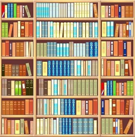 carta da parati libreria carta da parati libreria piena di libri pixers