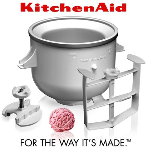 KitchenAid   Ice Cream Maker KICA0WH   Cookfunky