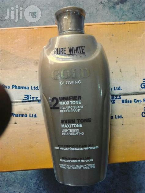 Purwhite Lotion white gold glowing unifier lotion for sale in ikeja