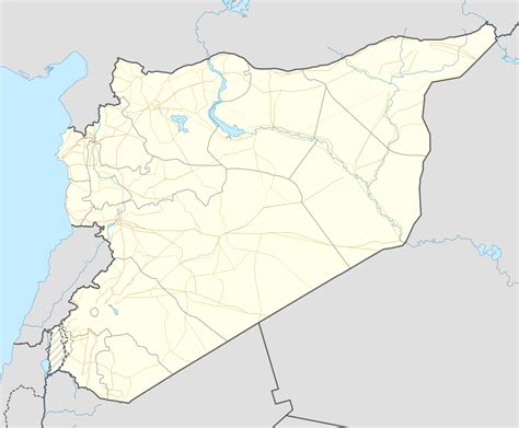 template syrian civil war detailed map sandbox wikipedia