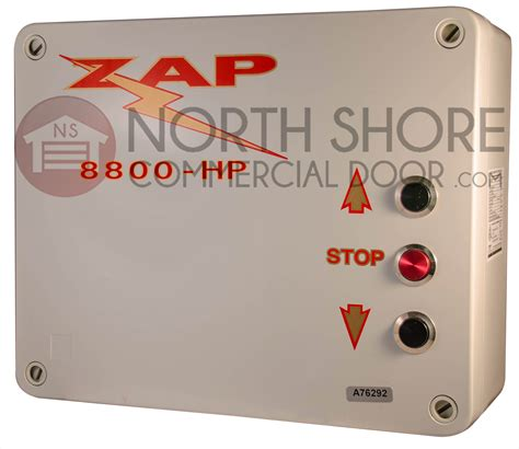 Zap Garage Door Opener Zap Garage Door Opener 8800 3 Hp Pb Series 3 Controller