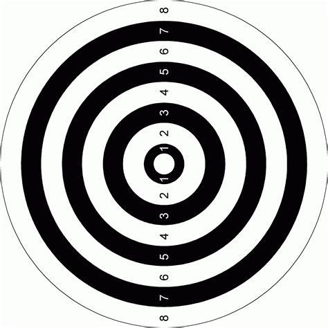 printable rifle shooting targets free printable shooting targets pdf