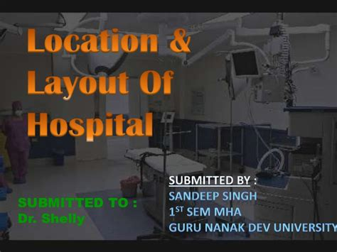 hospital layout design ppt final hospital planning and layout ppt