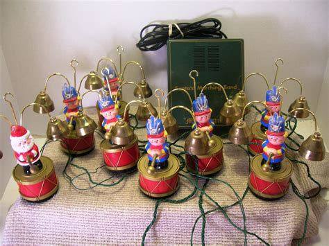 vintage mr christmas santa s marching band musical