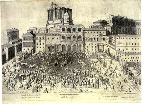 more on old st peters in rome roger pearse piranesi s drawing of old st peter s square ca 1660