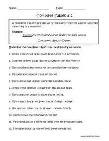 predicate nominative worksheets 6th grade helping verbs