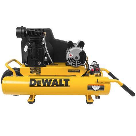 dewalt 4 gal portable electric air compressor d55153