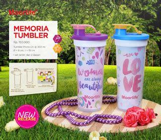 Moorlife Memoria Tumbler moorlife wadah plastik berkualitas