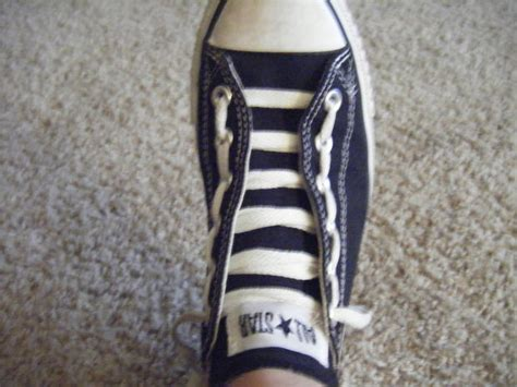 How To Bar Lace High Top Converse by 23 Cool Ways To Lace Shoes Guide Patterns