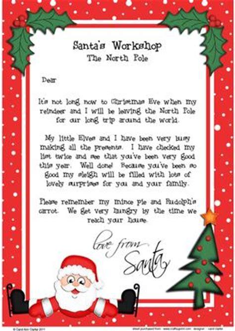 christmas skating santa childs letter santa