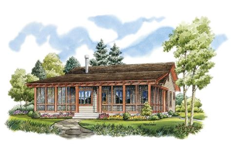 country living house plans you can buy eplans low country house plan rustic sportsman cabin 1031 square feet and 2