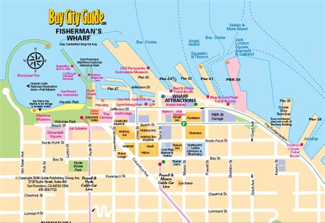 san francisco map of fishermans wharf maps discoverbooktravel fisherman wharf and pier