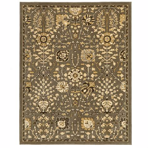 Home Depot Area Rugs 10 X 12 by Home Decorators Collection Anniston Tobacco Brown 8 Ft X