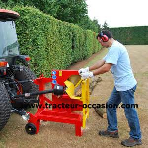 banc de scie bches xyloscie sur prise de tracteur rabaud