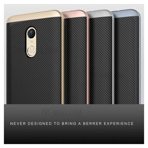 Redmi Note 4x Casing Galeno Fiber carbon fiber pc tpu back for xiaomi redmi note 4x silver tvc mall