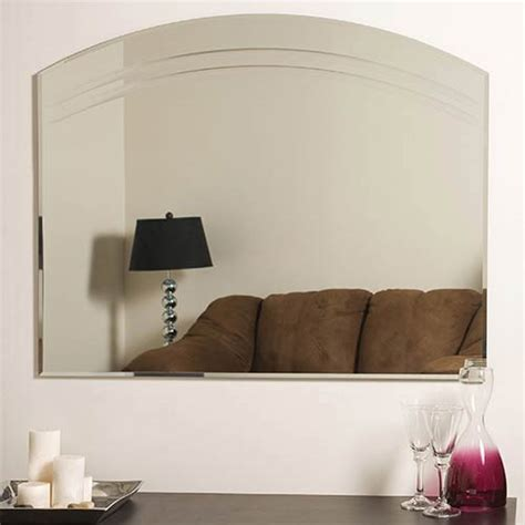 decor wonderland ssm526 francisca large frameless wall angel large frameless wall mirror decor wonderland wall