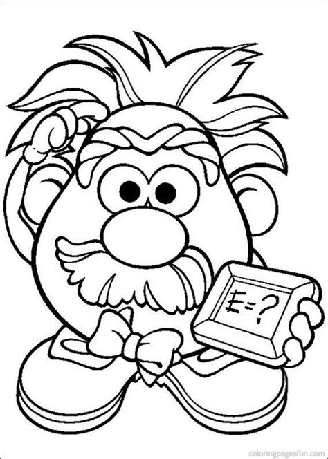 194 Best Images About Coloring Pages For Kids On Mrs Potato Coloring Pages