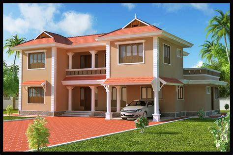 Different Colors Of Exterior Paintings In Kerala