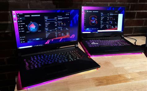 asus new rog strix laptops sport stunning rgb lights 240hz displays
