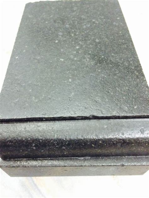 Countertop Edge Finishes by Black Granite Countertops And Squares On