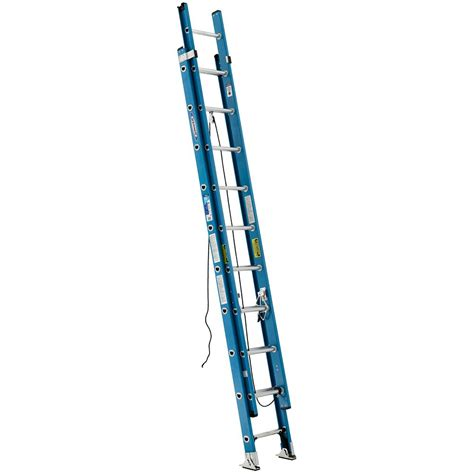 werner fiberglass extension ladder grade 1 250 load