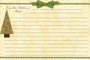 Free Christmas Recipe Card Template Paper Crafting Obsession Christmas Planner Free Printable