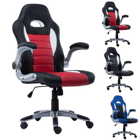 racing seat chair india aliexpress buy new pu leather executive racing style