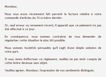 Un Exemple De Lettre Formelle En Français Exemple Lettre De Remerciement Formelle