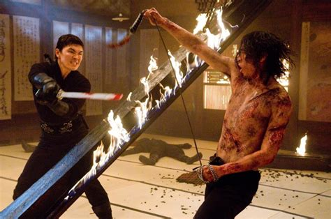 film ninja assassin complet rain in una scena d azione del film ninja assassin 136885