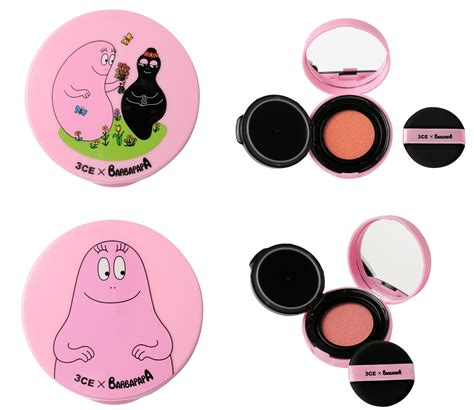 3ce Barbapapa Blush Cushion celebrate pinktober with 3ce x barbapapa collection