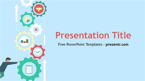 Free Machine Learning Powerpoint Template Prezentr Powerpoint Templates Free It Powerpoint Templates