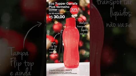 Tupperware Eco Glitter by Eco Tupper Vermelha Gliter