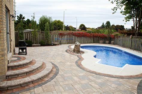 image gallery inground pool landscaping ideas