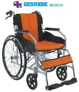 Kursi Roda Alumunium kursi roda fs804labj kursi roda travelling gea kursi