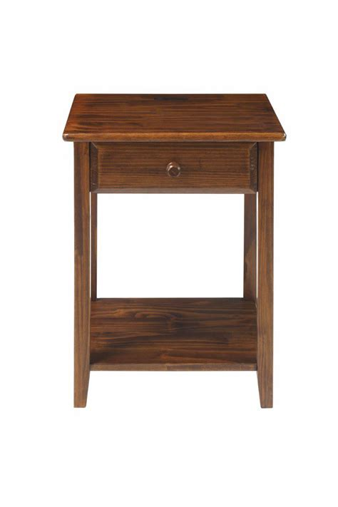 nightstand l with usb port vanderbilt nightstand with usb ports casual home