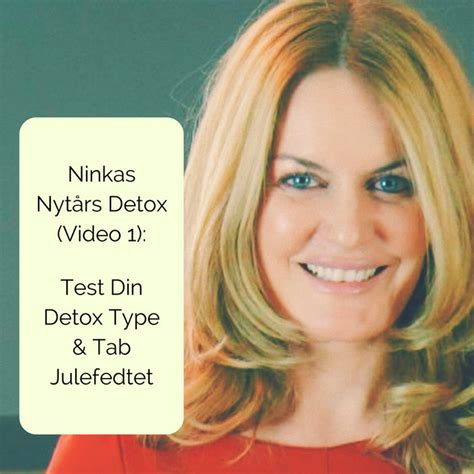 Ninka Detox by Ninkas Nyt 229 Rs Detox 1 Test Din Detox Type Tab