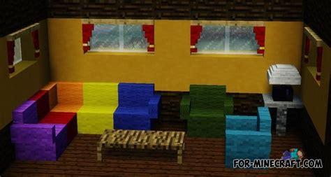 Mcpe Furniture by Update Mrcrayfish S Furniture Mod For Mcpe 0 11 0