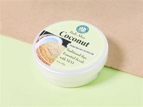 Scrub Bali Alus review rawat kulit tubuh dengan bali alus coconut