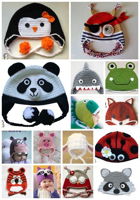 imagenes de gorros de animales montonazos de patrones gratuitos para gorros de animalitos